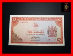 RHODESIA 2 Dollars 10.4.1979  P. 39  VF \ XF - Rhodesia