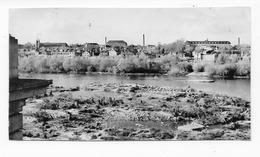 45   ORLEANS  PHOTO   1957 PANORAMA  AVANT LA CONSTRUCTION DU PONT JOFFRE - Orleans