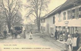 J90 - 74 - MIONNAZ - La Poste - MENTHONNEX-SOUS-CLERMONT - Haute-Savoie - Other Municipalities