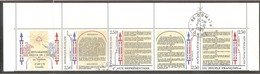 BANDE 1989. Y&T N° B2605A X 4 TP. 5 F. ( 2602 / 2605 ) Bicentenaire Déclaration Droits De L'Homme > Oblitérée. - Markenheftchen