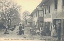 J90 - 74 - MIONNAZ - MENTHONNEX-SOUS-CLERMONT - Haute-Savoie - Publicité Plaque émaillée Chocolat Menier - Altri Comuni