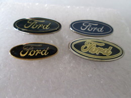 PIN'S   LOT 4 LOGO  FORD   DIFFERENTS - Ford