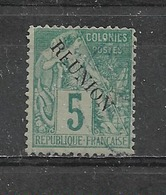 REUNION -  Yvert N° 20  Oblitéré - Reunion Island (1852-1975)