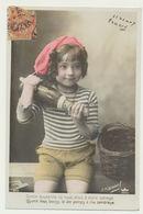 Garçon Avec Bouteille De Champagne...Photographe Henri MANUEL - Portraits