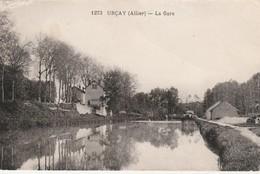 - CPA - 03 - URCAY - La Gare Et Le Canal Du Berry - 029 - Altri Comuni