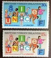 British Virgin Islands 1971 UNICEF MNH - British Virgin Islands