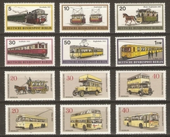 Allemagne Berlin 1971/3 - Moyens De Transports Berlinois - 3 Séries Complètes MNH - Tram - Train - Autobus - Métro - Alla Rinfusa (max 999 Francobolli)