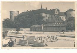 LETTONIE , RIGA ? - Carte Photo, Gare De Marchandises, Bois De Construction - Letonia