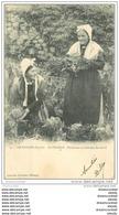 73 LES BAUGES. Le Châtelard. Paysannes En Costume De Travail 1903 - Le Chatelard