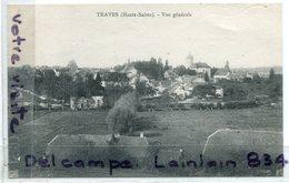 - TRAVES - ( Haute-Saône ), Vue Générale, écrite, Voyagé Dans Enveloppe, TTBE,  Scans.  , - France