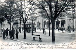 BASEL  BADISCHER BAHNHOF - BS Basle-Town