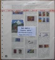 SAFE/I.D. - Jeu FRANCE 2007 2e Partie Avec Plaquettes Couleurs - Fogli Prestampati