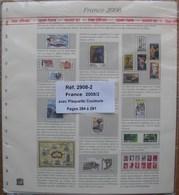SAFE/I.D. - Jeu FRANCE 2008 2e Partie Avec Plaquettes Couleurs - Albums & Binders