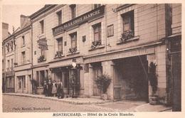 ¤¤   -   MONTRICHARD   -   Hôtel De La Croix Blanche   -  Pompe à Essence   -  ¤¤ - Montrichard