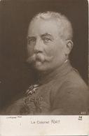 Le Colonel Rat Peint Par J. D' Argoat . 159 Eme Regiment Infanterie . Guerre 1914. Legion Honneur - Hommes Politiques & Militaires