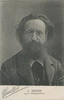 Jules Guesde Socialiste SFIO  Par Alexandrovitch . - Politicians & Soldiers