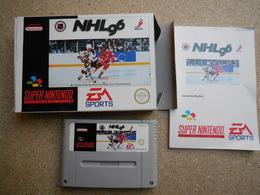 NHL 96 SNES Super Nintendo - Electronic Games