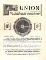 Feuillet Machine à Calculer Universelle Union (richement Illustrée + Instructions) - Publicités