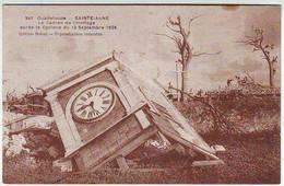 GUADELOUPE . SAINTE ANNE . LE CADRAN DE L'HORLOGE APRES LE CYCLONE DU 12 Septembre 1928 . Editeur Boisel - Other