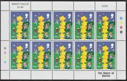 ISLE OF MAN  2000  EUROPA  MINIFOGLIO UNIFICATO N.936X10  MNH - Isle Of Man