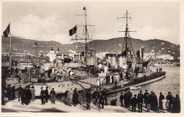 CPSM De CANNES - Torpilleurs Et Sous Marins Dans Le Port. - Cannes