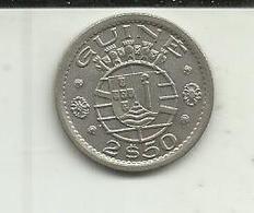 2.5 Escudos 1952 Guiné Bissau - Guinea Bissau