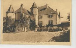 MENS (environs) - Château De MONTMEILLEUR - Mens