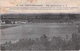 CREPY EN VALOIS. Vue Panoramique. - Crepy En Valois