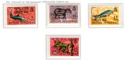 1970 -  HONDURAS  BRITANNICO -  Mi. Nr.  236/239 - NH - (AS2302.44) - Honduras Britannico (...-1970)