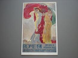 ROME - EXPOSITION INTERNATIONALE 1911 - ILLUSTRATEUR AK TERZI - Expositions