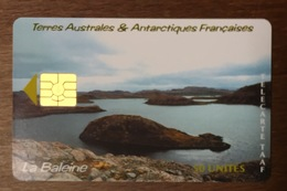 TAAF LA BALEINE TÉLÉCARTE 50 UNITÉS RÉFÉRENCE PHONECOTE TAAF26 TIRAGE GLOBAL 1500 EX PHONECARD - TAAF - Terres Australes Antarctiques Françaises