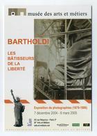 CP Pub - Auguste Bartholdi - Statue De La Liberté - Exposition De Photographies 2004 2005 Musée Des Arts Et Métiers CNAM - Ansichtskarten