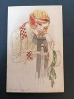 Illustrateur Mauzan. Série 41-1.Non Voyagée. - Mauzan, L.A.