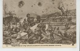 GUERRE 1914-18 - Attaque Héroïque Par Le Régiment Du Roi De Liverpool Contre Les Tranchées Allemandes à GIVENCHY - Guerre 1914-18