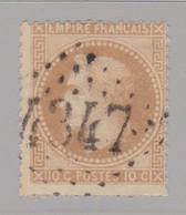 GC 4347 Woincourt ( Dep 76 ) S / N° 28 - Marcophilie (Timbres Détachés)