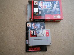 NBA Give 'N Go SNES Super Nintendo - Jeux électroniques