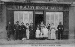 Sedan Hotel De La Croix Blanche  Restaurant THOUANT C50 - Sedan