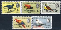 1964 -  HONDURAS  BRITANNICO -  Mi. Nr.  179/183 - NH - (AS2302.45) - Honduras Britannico (...-1970)