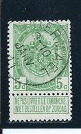 OCB 83 - Afstempeling Type 2L WATERMAEL - COBA 6 - 1893-1907 Wappen