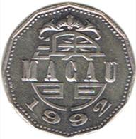 Macau 5 Patacas 1992 - Macao