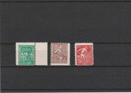 MECKLEMBOURG POMERANIE **LUXE N° 19/21 COTE Y&T 2011 = 30,00 EUROS - Soviet Zone