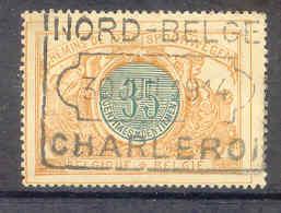 NB197  TR33 Nord Belge CHARLEROI - Chemins De Fer
