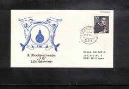 Germany / Deutschland 1981 Deutsche Bundeswehr Unterseeboot U15  Interessante 2 Belege - Lettres & Documents