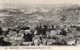 CP 14 Calvados Honfleur Vue Générale Prise Du Mont-Joli 125 LL - Honfleur