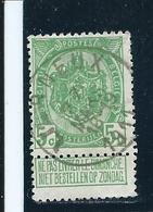 OCB 83 - Afstempeling Type 1+ LIERNEUX - COBA 8 - 1893-1907 Wappen