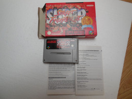Super Street Fighter II - Nintendo Classics  SNES Super Nintendo - Elektronikspiele