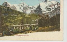SUISSE - BERN - MÜRREN - Electr. Bahn - BE Bern