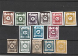 SAXE  ORIENTALE**LUXE N° 1A/19 COTE Y&T 2011 = 26.50 EUROS - Soviet Zone