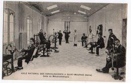 SAINT MAURICE * VAL DE MARNE * ASILE NATIONAL CONVALESCENTS * SALLE DE MECANOTHERAPIE * MUSCULATION * Le Delay - Saint Maurice
