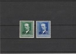 ALLEMAGNE N° 684/685**LUXE COTE Y&T 2011 = 15.00 EUROS - Unused Stamps